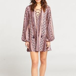 NWT Show Me Your Mumu Lightning Bird Tunic Dress